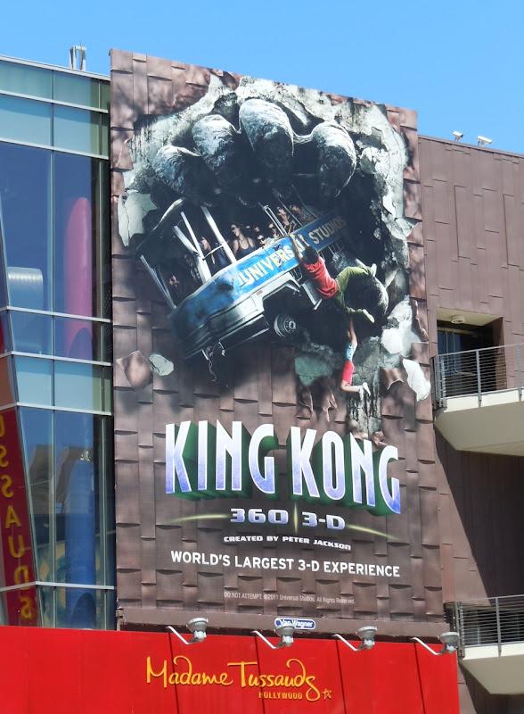 King Kong 360 3D billboard