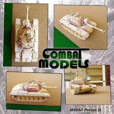 M48A3 Combat Models design