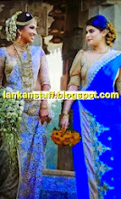 Hirunika dressed bridesmaid for best friend's wedding