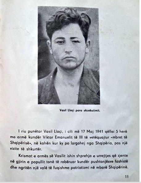 """""""Viva l'Albania! Abbasso il fascismo"""" , fu condannato dopo l'attentato a Vittorio Emanuele III"""