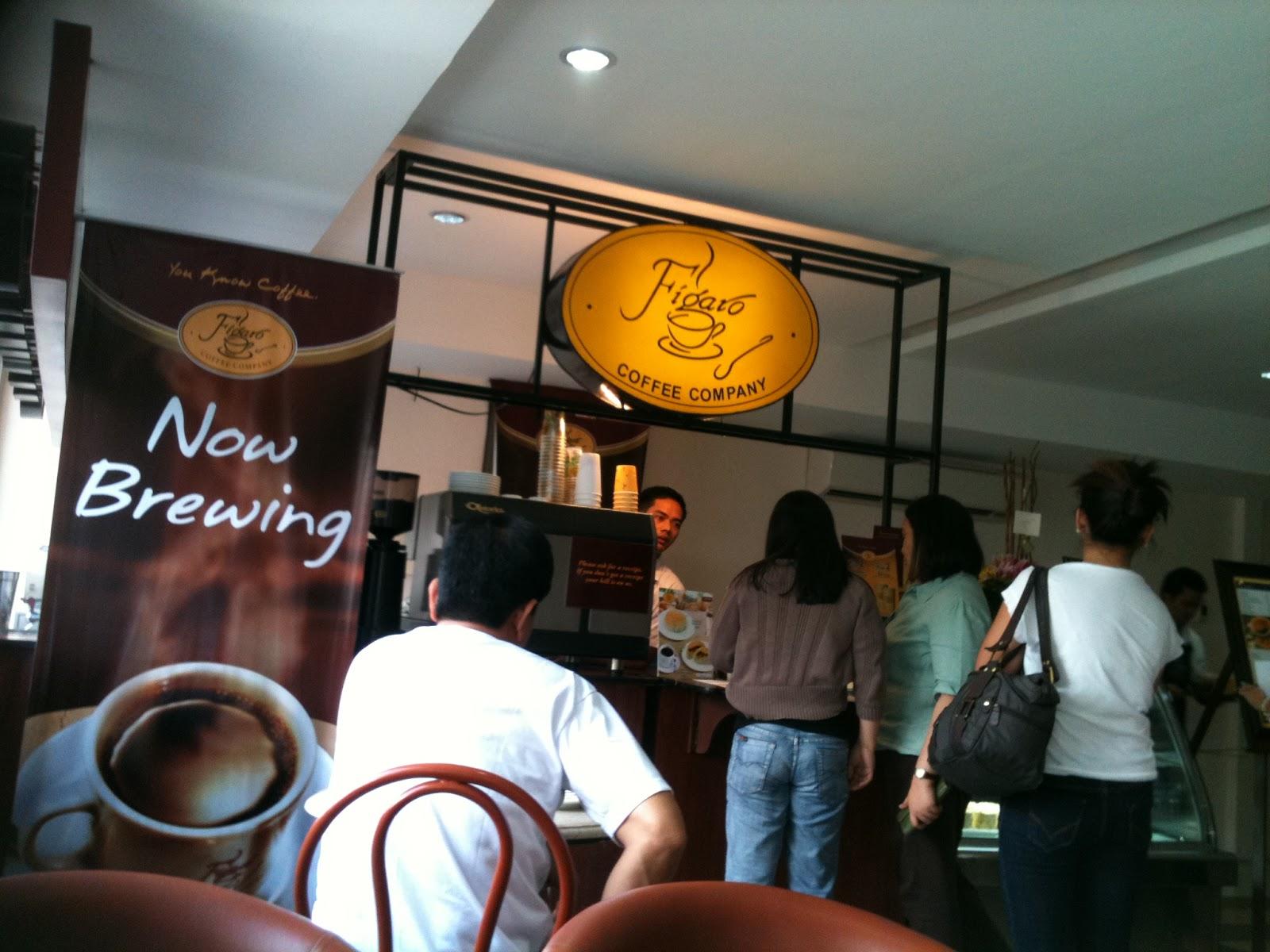 Figaro Coffee Company, Makati