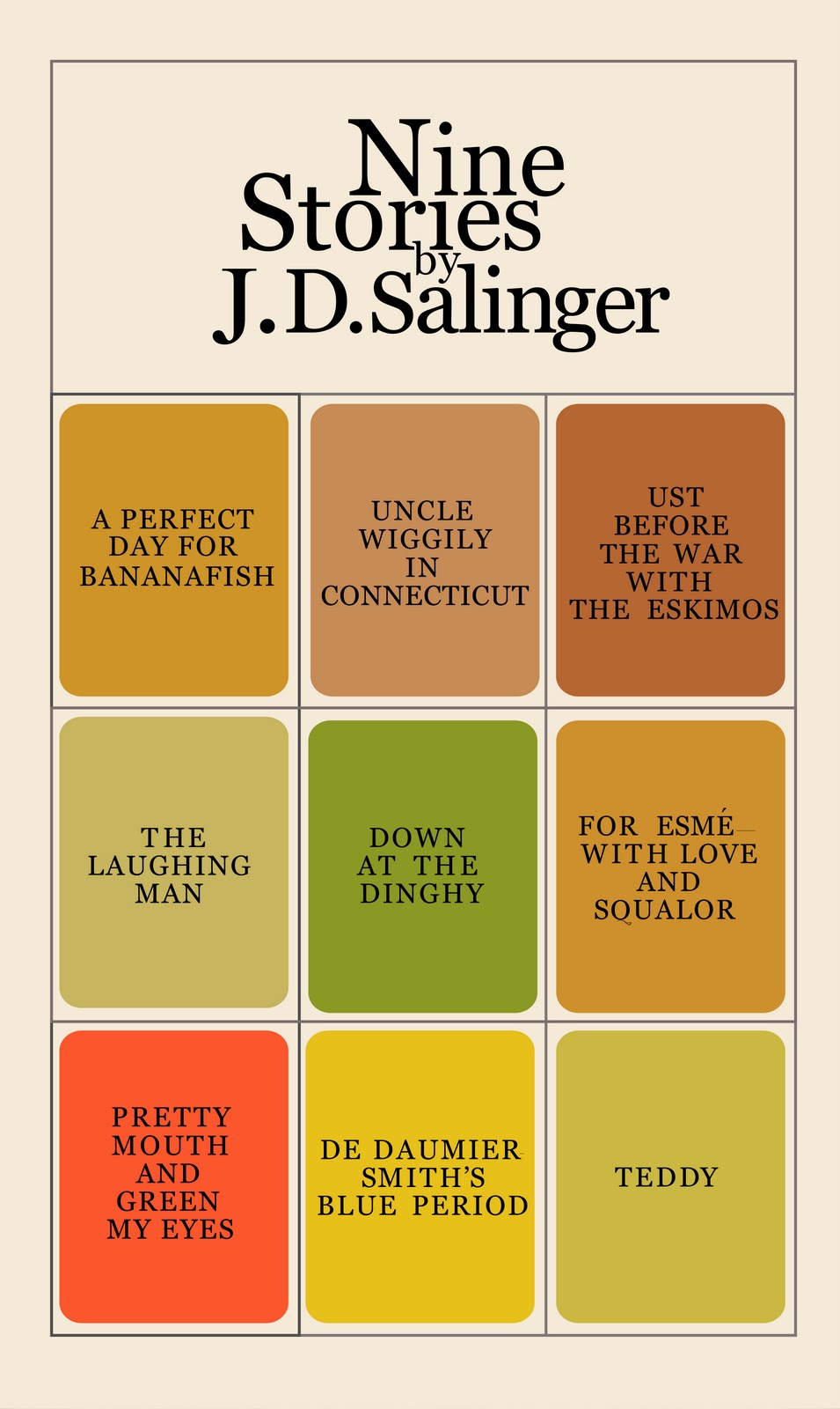 "a description of a recurring theme in jd salingers stories Examining salinger's narrative in cather in the rye jd's salinger's narrative in catcher in the rye but it conveys most of its ""story"" through the use."