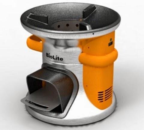 BioLite, Cocina Ecologica y Fuente de Energia