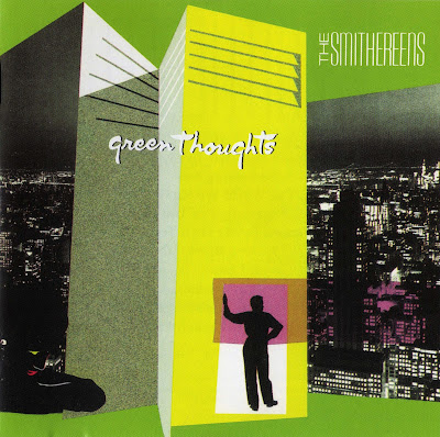 Cover Album of The Smithereens - Green Thoughts (1988 Us great power classic rock - Wave)