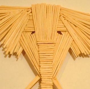 An elephant a day elephant no 14 toothpick art - Luxury toothpicks ...