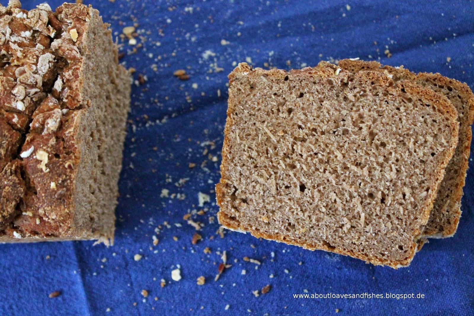 mein erstes Brot mit Sauerteig