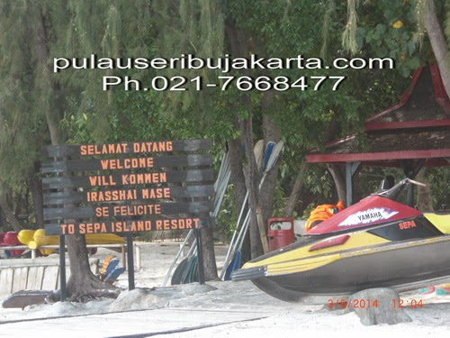 Pulau Sepa Pulau Seribu Island resort Jakarta