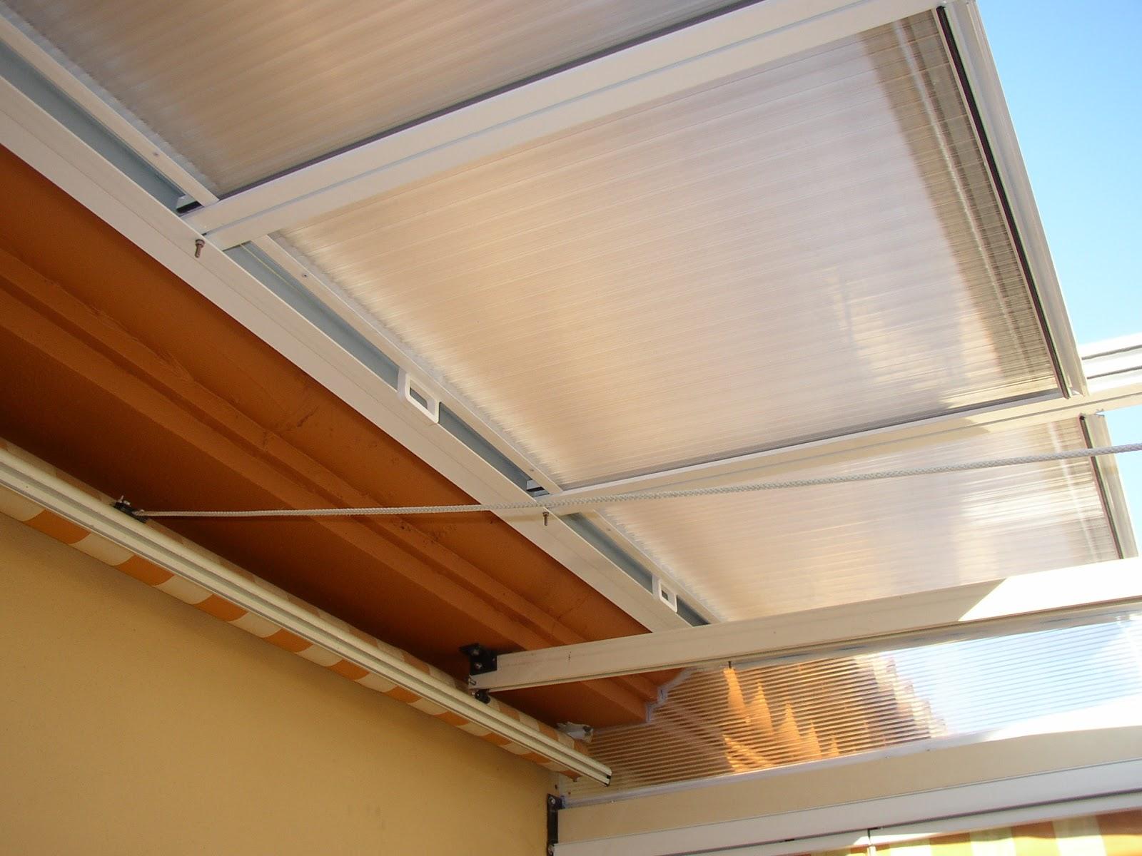 Instalaci n de techos m viles cerramientos a coru a for Rieles aluminio para toldos