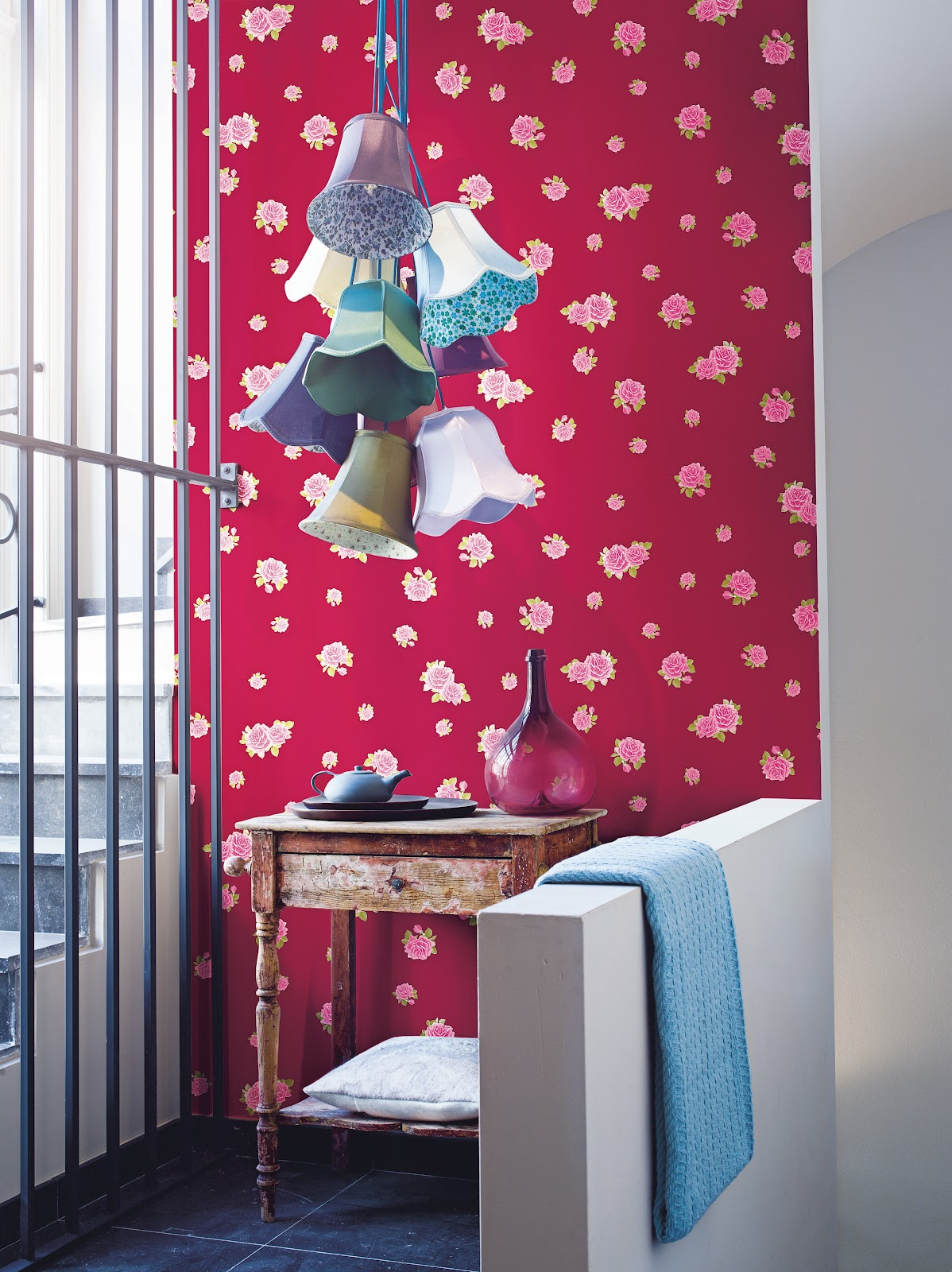 Papeles pintados aribau la vie en rose nueva colecci n for Papeles pintados aribau