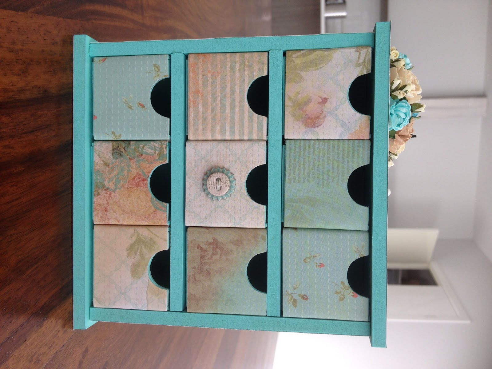 Crafts By Poppins Kaiser Craft Mini Chest Of Drawers Project