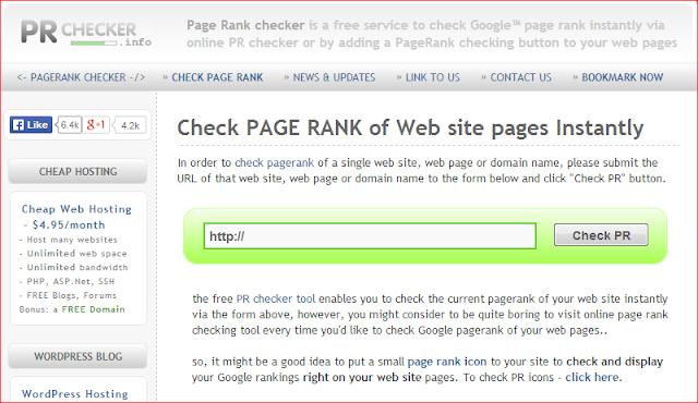 Naikkan Pagerank Dan Ping Ke 1000 Website dengan Mudah