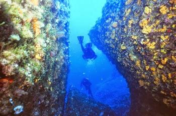 scuba diving crete2