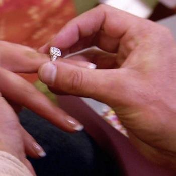 Eva Marie Engagement Ring
