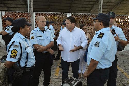 Deputado Federal Cb Sabino estará em Aquiraz, dando apoio aos policiais militares durante o carnaval