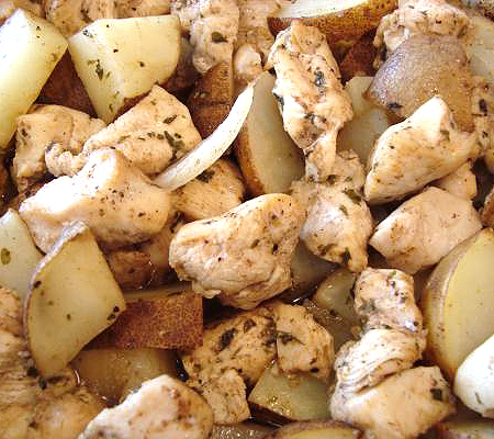 Lebanese Chicken and Potatoes Recipes