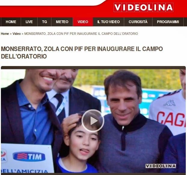 Stey Guerra e Gianfranco Zola