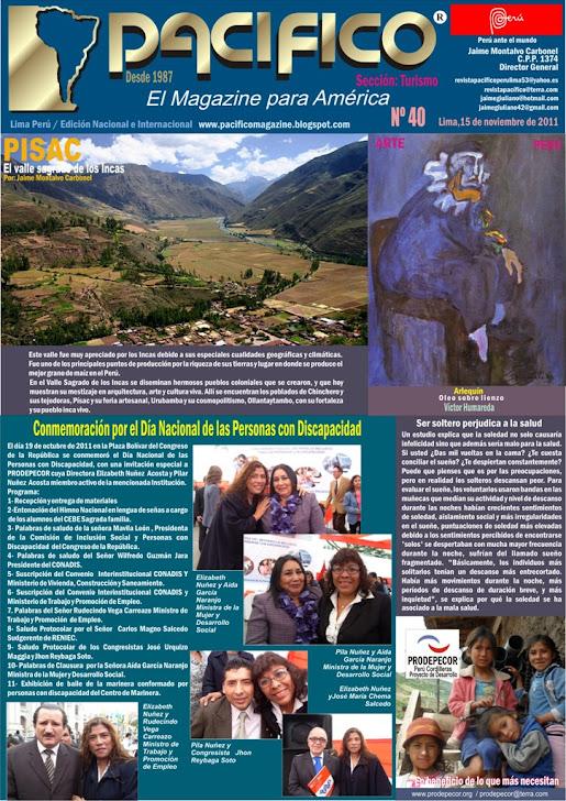 Revista Pacífico Nº 40 Turismo