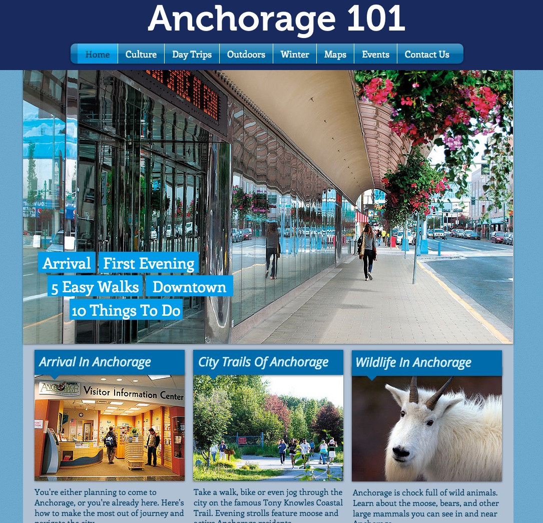 Bearfoot's Anchorage101 City Website