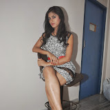 Ruby Parihar Photos in Short Dress at Premalo ABC Movie Audio Launch Function 43