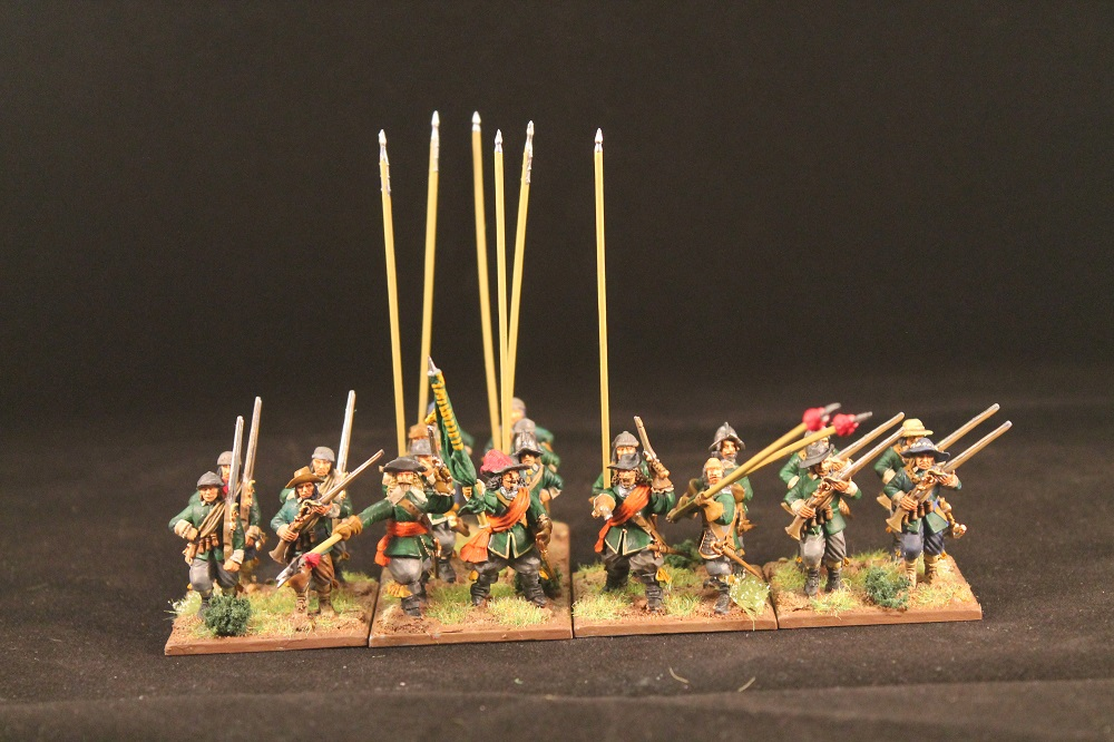 ECW infantry 28mm Warlord Games