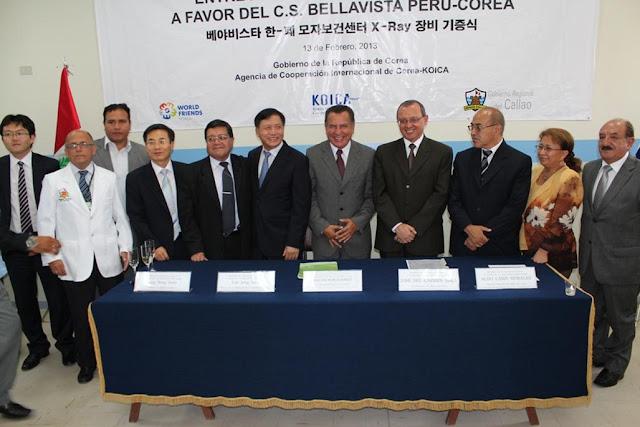 """C.S. """"PERÚ COREA"""" DE BELLAVISTA RECIBIÓ DONACIÓN DE KOICA"""