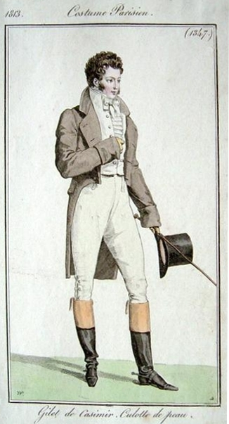 Costume Parisien 1813