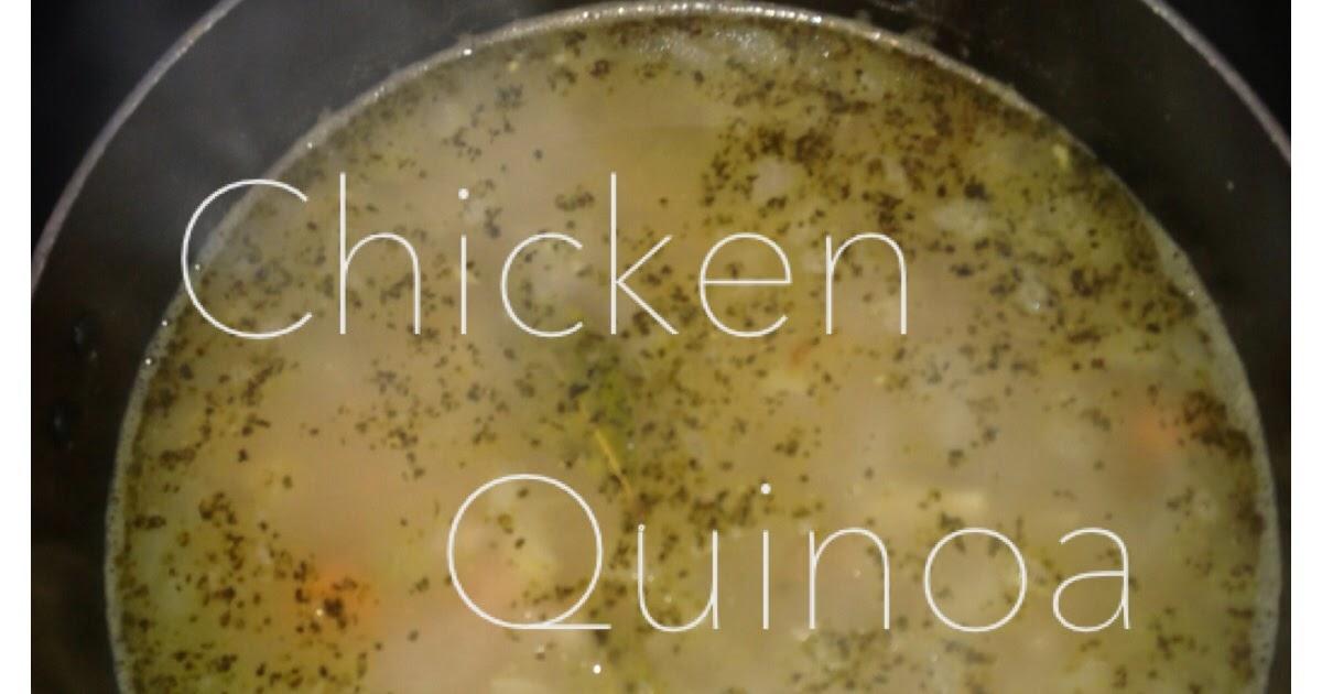 Chicken Quinoa Soup Nature S Promise