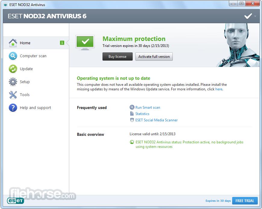 Legendary antivirus