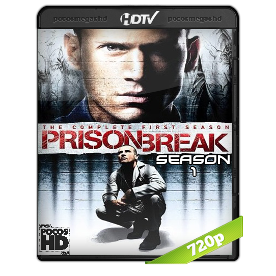 PRISON BREAK (TEMPORADA 1) BRRIP 720P AUDIO DUAL LATINO/INGLES
