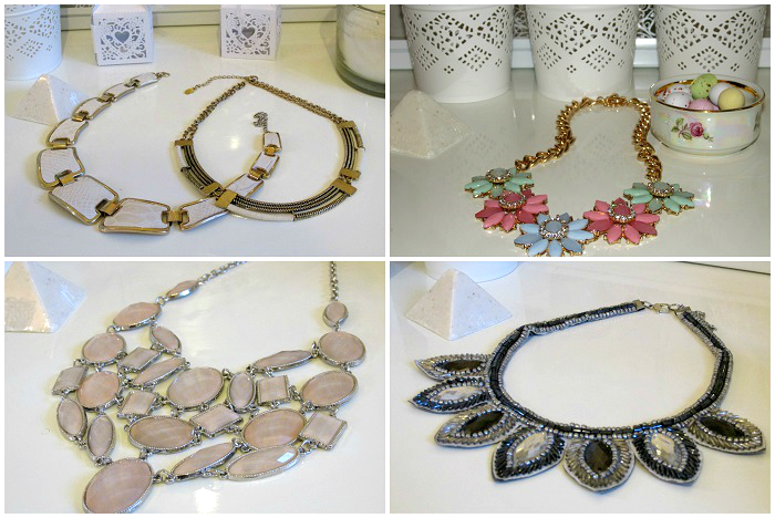 The Statement Necklace by guest blogger Dash. Visit www.forarealwoman.com