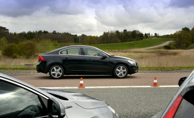 Volvo S60 KERS prototype side view