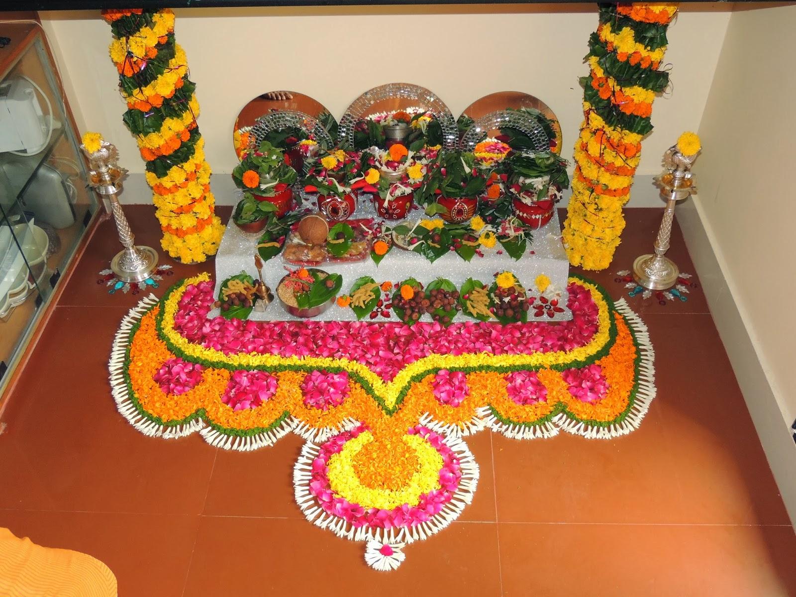 My Creativity Mangala Gauri Pooja Decoration