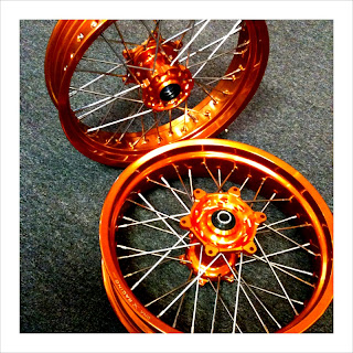 KTM SUPERMOTO WHEELS