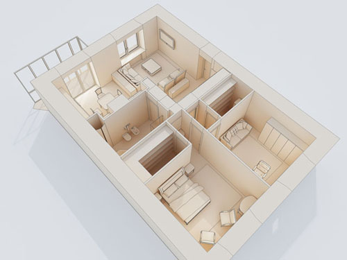 Room Arranger is 3D room / apartment / floor planner with simple user