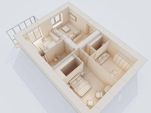 Room Arranger is 3D room / apartment / floor planner with simple user