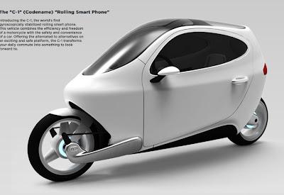 scooter del futuro C1 Lit Motors