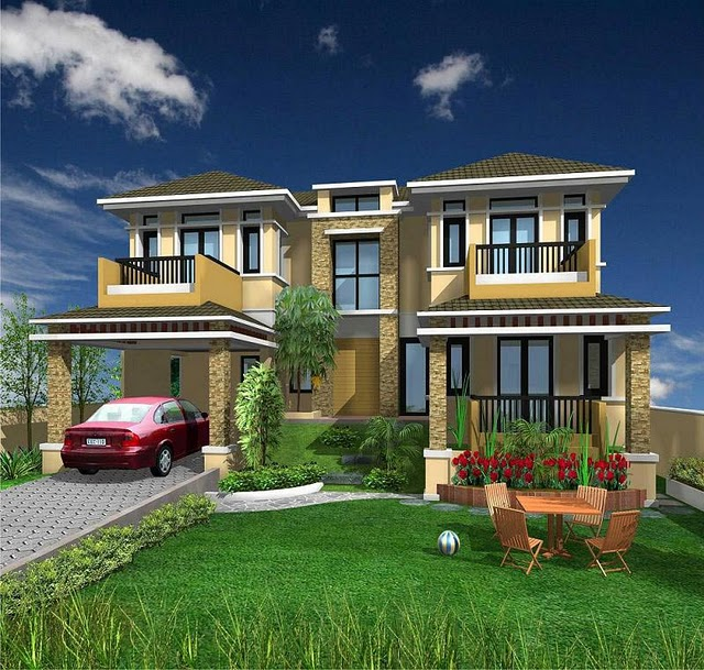 3D Front Elevation.com: India 3D Home Front ELevationHouse-Home ...