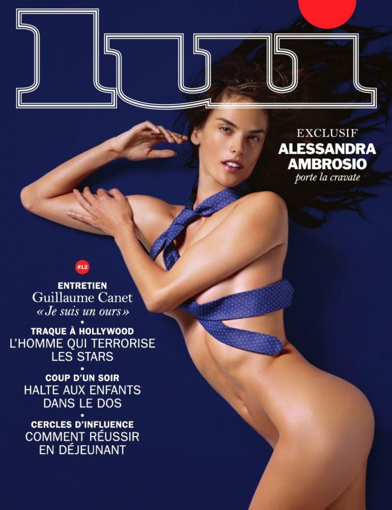 Alessandra Ambrosio for Lui Magazine November 2014 Photoshoot by Liz Collins
