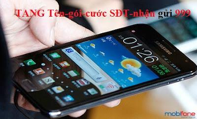 Cú pháp tặng 3G Mobifone cho thuê bao khác