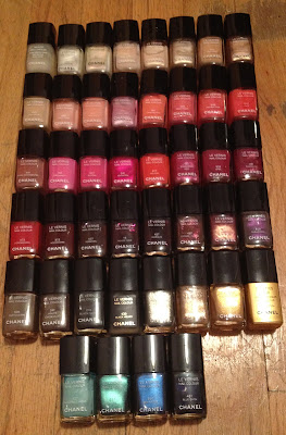 Chanel, Chanel Le Vernis Nail Colour, nail polish, nail lacquer, nail varnish