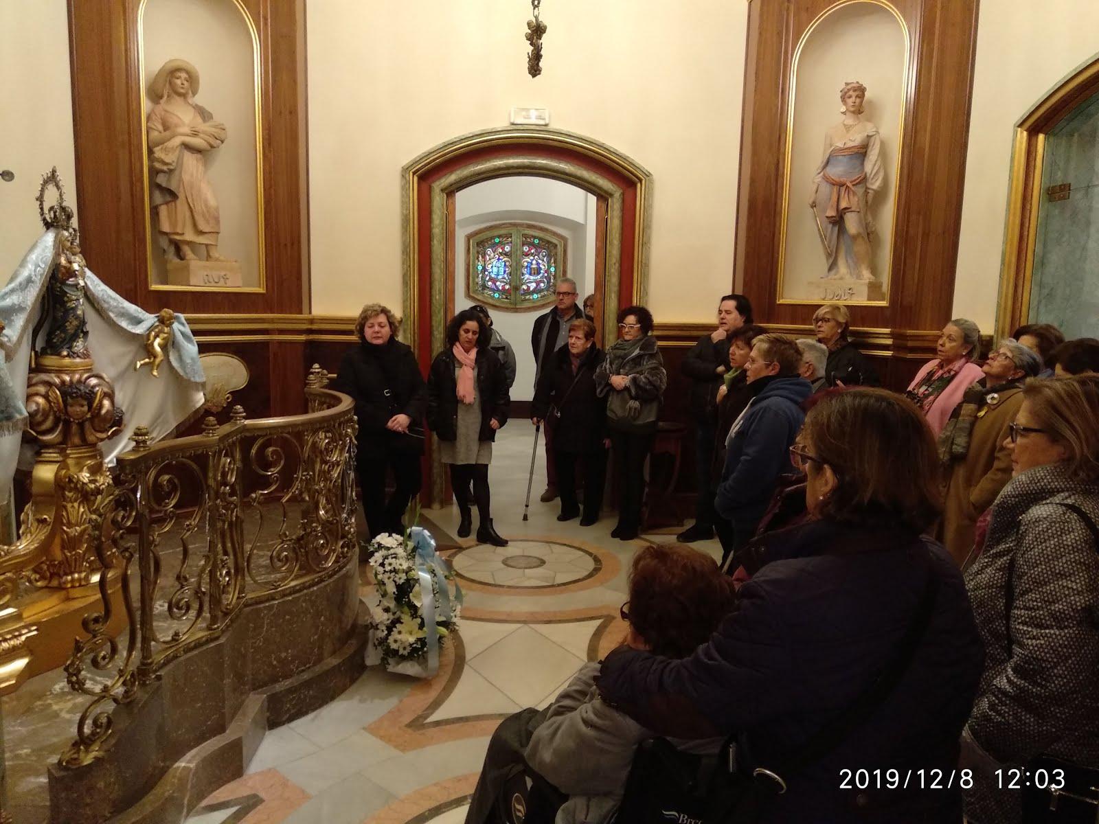 Peregrinació anual de la Congregació Mariana de Reus al Santuari