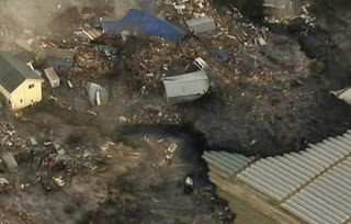 Videos do terremoto no Japão em 2011
