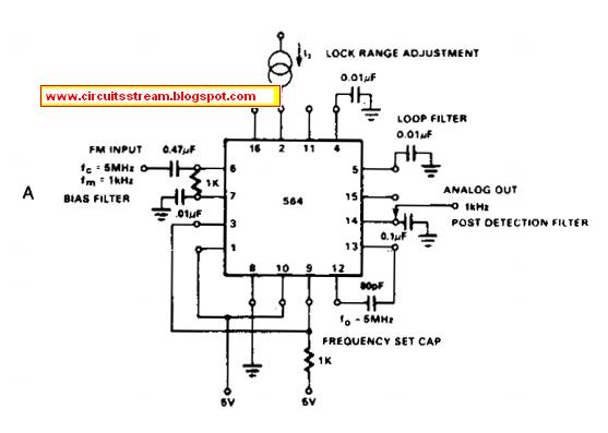 simple fm demodulator circuit diagram electronic circuit diagrams rh circuitsstream blogspot com fm demodulator circuit diagram FM Receiver Circuit Diagram