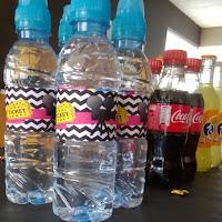 Water bottle label movietheme (free download)