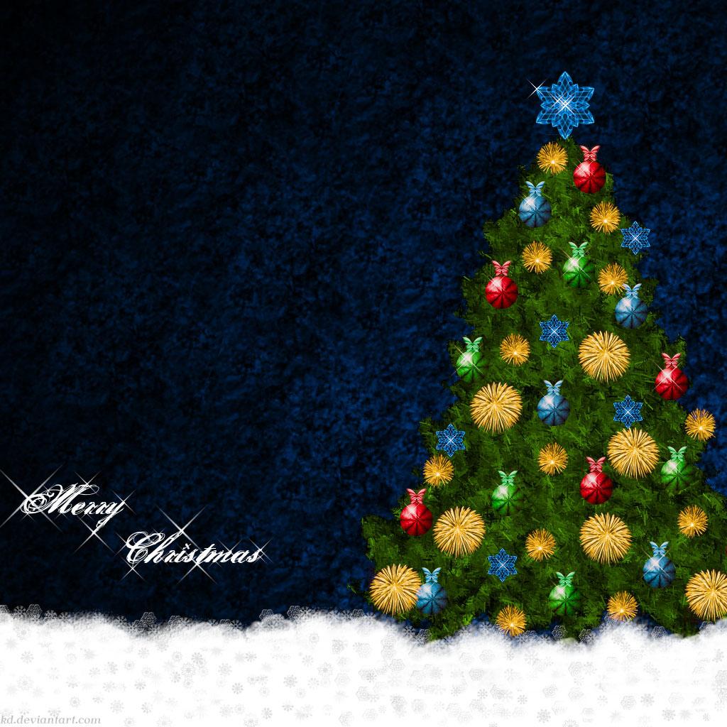 Christmas Themed iPad mini Wallpapers Part 1 - Gadgets ...