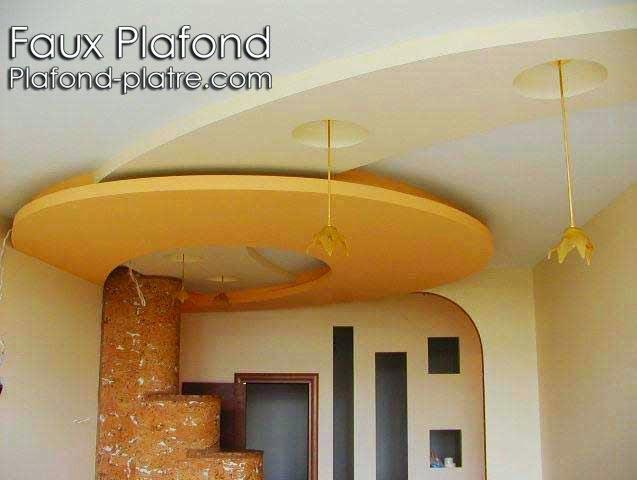Faux plafond for Faux plafond suspendu decoratif