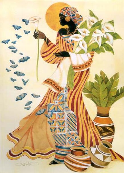 MI BAUL DEL DECOUPAGE KEITH MALLET AFRICANAS