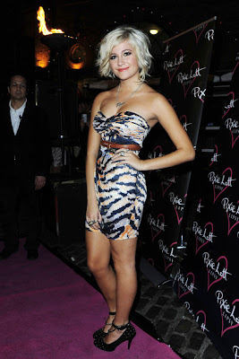 Pixie Lott Short Dresses & Skirts Style
