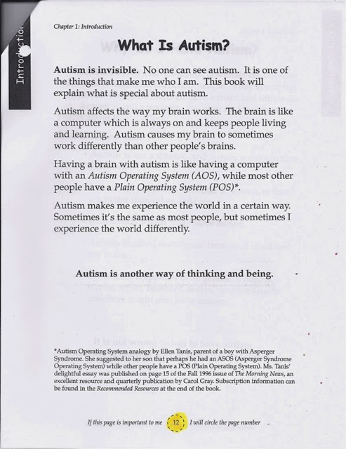 term paper about autism