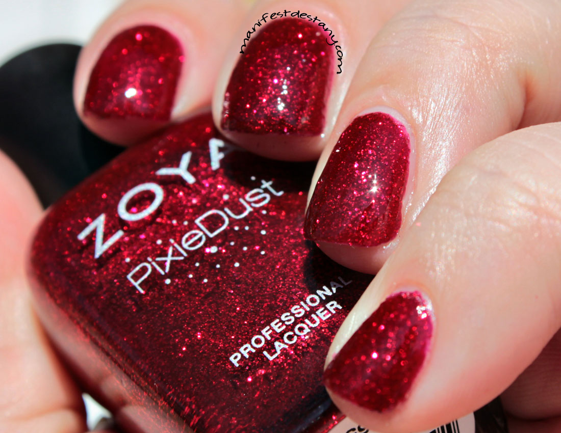 zoya pixiedust in chyna swatchesreview confessions of a